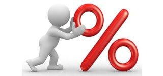 Calculadora de porcentagem online